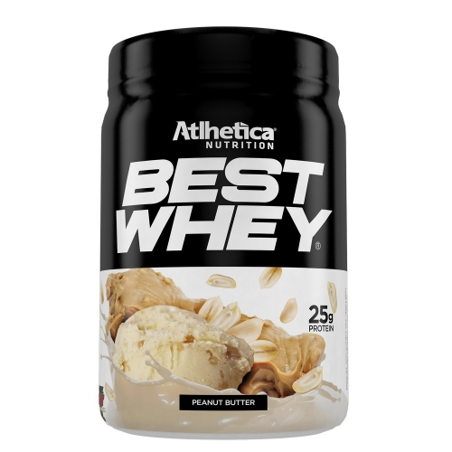 Best Whey (450g) Sabor Peanut Butter - Atlhetica Nutrition