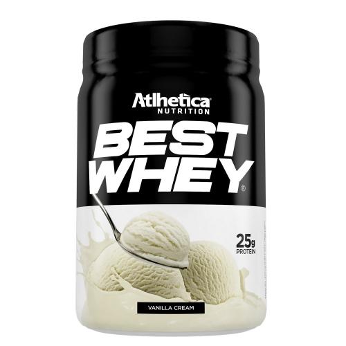 Best Whey (450g) Sabor Baunilha - Atlhetica Nutrition - Val. 18/10/2019