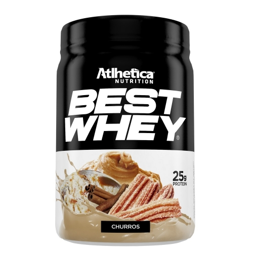 Best Whey (450g) Sabor Churros - Atlhetica Nutrition - Val. 19/10/2019