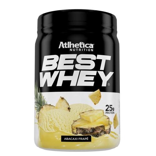 Best Whey (450g) Sabor Abacaxi Frapê - Atlhetica Nutrition