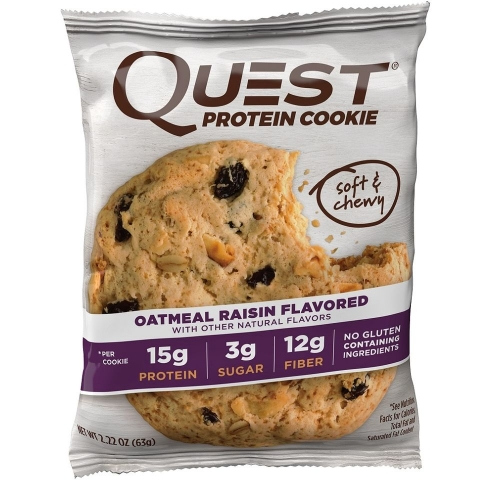 Quest Nutrition Protein Cookie Sabor Oatmeal (1 Unidade 63g)