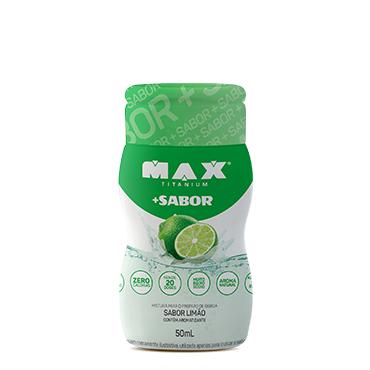 +SABOR Sabor Limão (50ml) - Max Titanium