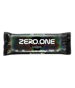 Zero one bar Sabor Caramelo (Cx 12 Unidades) - Black Skull