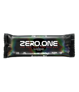 Zero one bar Sabor Amendoim (Cx 12 Unidades) - Black Skull