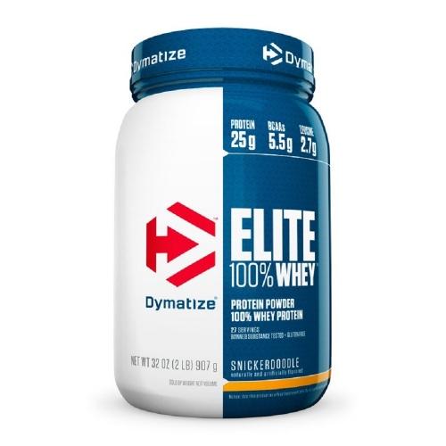 Elite Whey Protein Dymatize Chocolate Cake Batter - 907g
