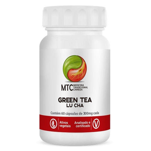 Green Tea (chá verde Lu Cha) 60 Caps - Vitafor