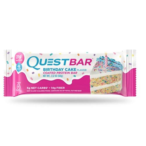 Quest Bar - Protein Bar - Birthday cake - 60g