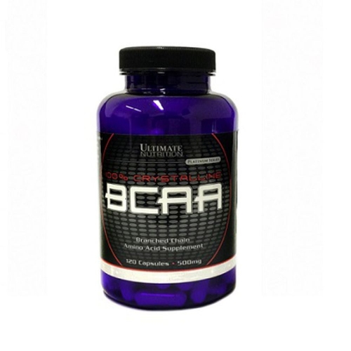 BCAA 500mg (200 caps) - Ultimate Nutrition