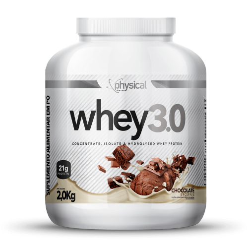 Whey 3.0 Sabor Chocolate (2Kg) - Physical Pharma