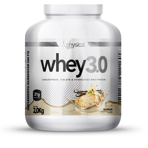 Whey 3.0 Sabor Baunilha (2Kg) - Physical Pharma