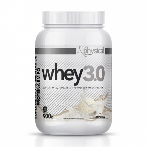 Whey 3.0 Sabor Baunilha (900g) - Physical Pharma