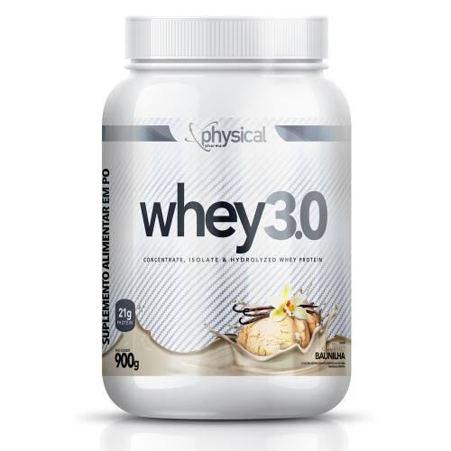 Whey 3.0 Sabor Baunilha (900g) - Physical Pharma