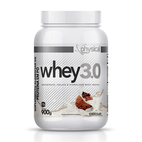 Whey 3.0 Sabor Chocolate (900g) - Physical Pharma