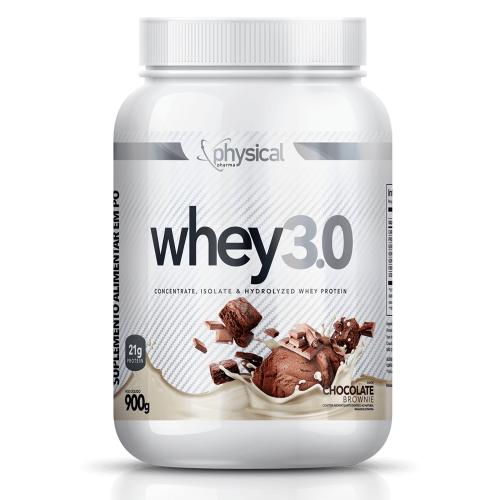 Whey 3.0 Sabor Chocolate (900g) - Physical Pharma