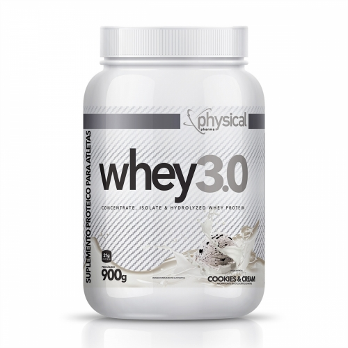 Whey 3.0 Sabor Cookies (900g) - Physical Pharma