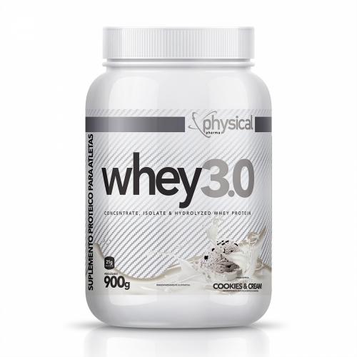 Whey 3.0 Sabor Cookies (900g) - Physical Pharma