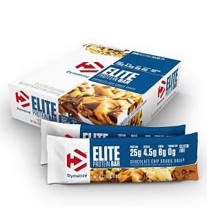 Elite Protein Bar Sabor Chocolate Chip Cookie Dough (Caixa c/12) - Dymatize
