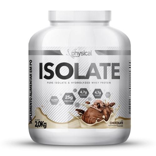 Isolate Sabor Chocolate (2kg) - Physical Pharma