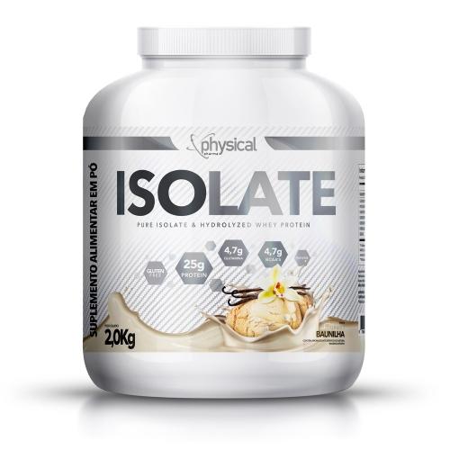 Isolate Sabor Baunilha (2kg) - Physical Pharma