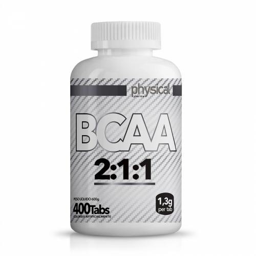 BCAA 2:1:1 -1,3g (400 Tabletes) - Physical Pharma