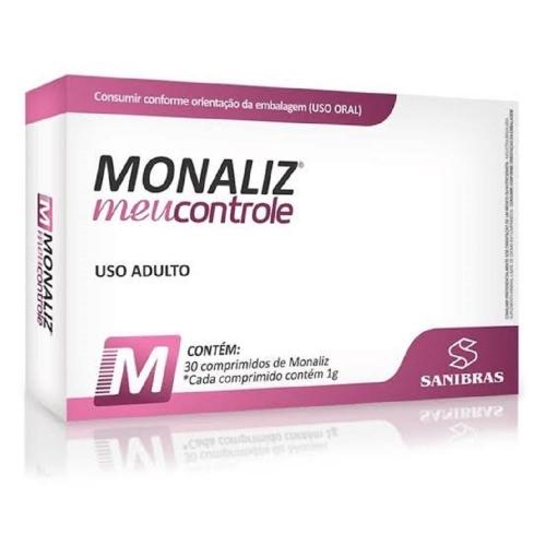 Monaliz Meu controle (30 Comprimidos) - Sanibras