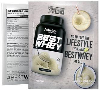 Best Whey Sabor Original (35g Sachê) - Atlhetica Nutrition