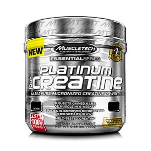 Platinum 100% Creatina Micronized (400g) - Muscletech