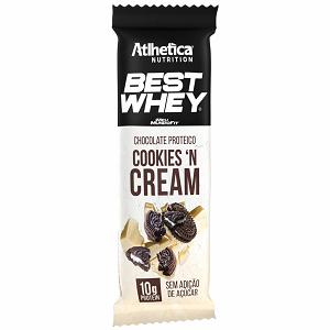 Best Whey Chocolate Proteico sabor Cookies (1 unidade de 50g) - Atlhetica