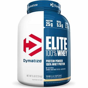 Elite Whey Protein Dymatize Baunilha - 2.270g