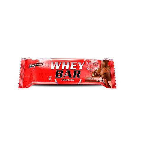 Whey Bar Protein Sabor Chocolate c/ amendoim (1 Unidade de 40g) - Integralmédica