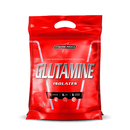 Glutamine Isolates (1kg) - Integralmédica