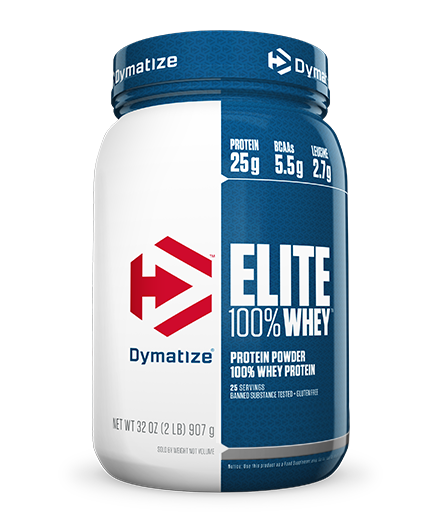 Elite Whey Protein Sabor Chocolate Fudge (907g) - Dymatize