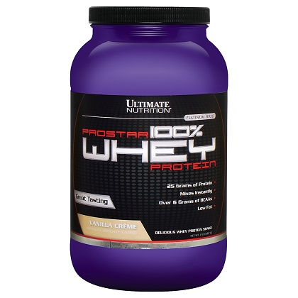 Prostar Whey Protein - Ultimate Nutrition - Chocolate c/ Coco - 907g