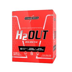 H2out Sabor Maçã c/ Canela (Caixa c/ 30 saches de 7g Cada) - Integralmédica
