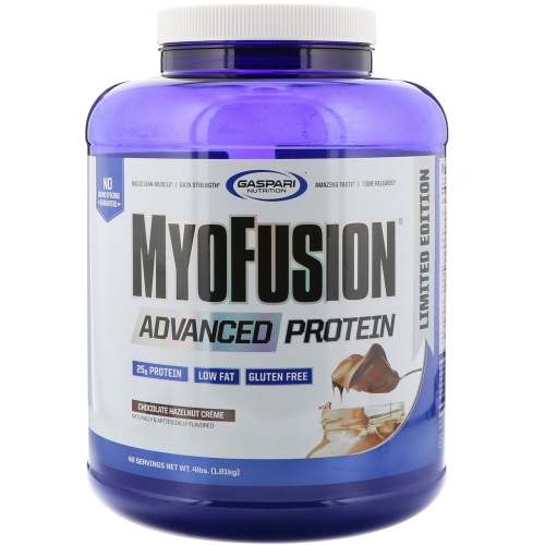 Myofusion - Gaspari Nutrition - Chocolate Hazelnut - 1.814g