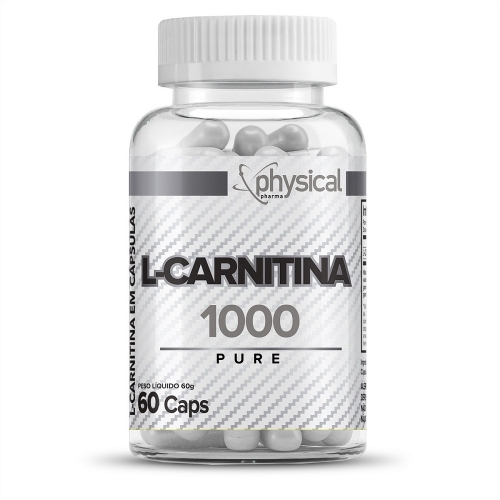 L-Carnitina (60 Cápsulas) - Physical Pharma