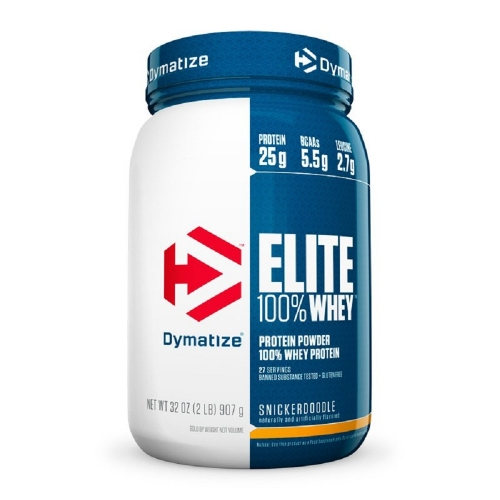 Elite Whey Protein Sabor Morango (907g) - Dymatize