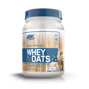 Whey & Oats (700g) Sabor Vanilla Almond Pastry Muffin - Optimum Nutrition