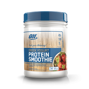 Greek Yogurt Protein Smoothie Morango (462g) - Optimum Nutrition