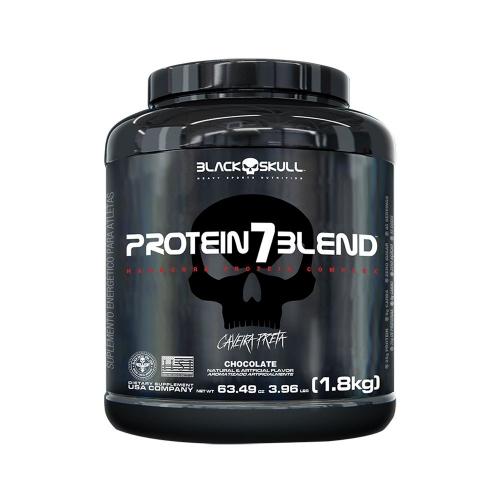 Protein 7 Blend Sabor caramelo (1,8kg) - Black Skull