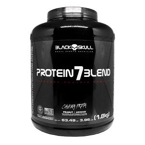 Protein 7 Blend Sabor Morango (1,8kg) - Black Skull
