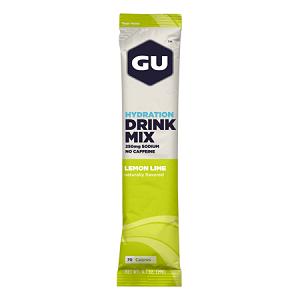 Drink Mix Hidroetrolítico Sabor Limão (19g) - Gu Energy