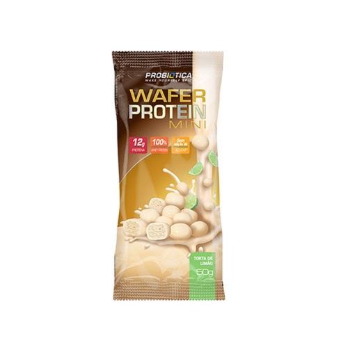 Wafer Protein Mini Sabor Torta de Limão (1 Unidade de 50g cada) - Probiótica