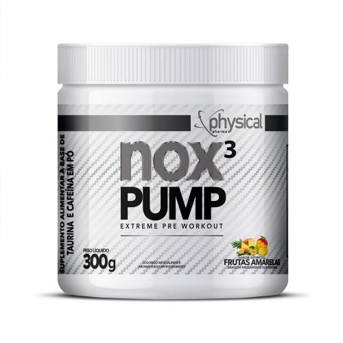 NOX 3 PUMP Sabor Frutas Amarelas (300g) - Physical Pharma