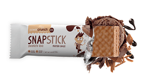 Snap Stick Kids Sabor Chocolate Lava (1 Unidade de 32g) - Power Crunch