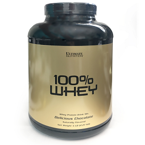 100% Whey Sabor Baunilha (2,27kg) - Ultimate Nutrition