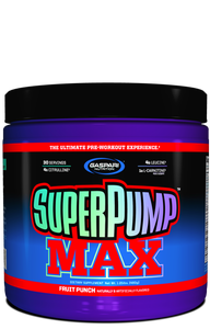 Super Pump Max Sabor Grape Cooler (480g) - Gaspari Nutrition