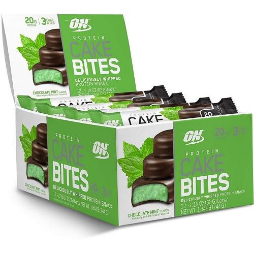 Protein Cake Bites - Sabor Chocolate Mint - Optimum Nutrition - 62g (Unidade)