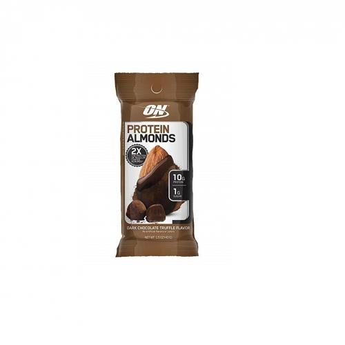 Almonds Preotein Sabor Dark Chocolate Truffle (Amêndoas Proteicas) unidade (43g) - Optimum Nutrition