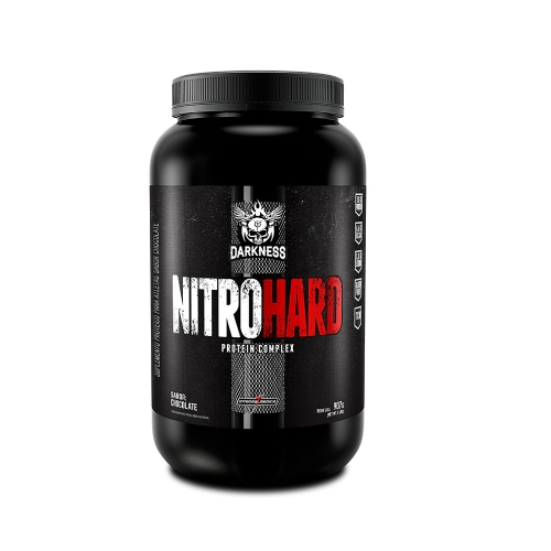 Nitro Hard Darkness Sabor Chocolate com Amendoim (907g) - Integralmédica